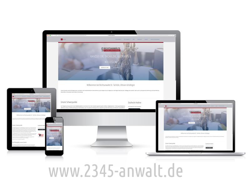 Anwälte Webseite
